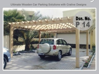 Wooden Car Parking | Car Parking Shade | Steel Car Parking | Suppliers in UAE