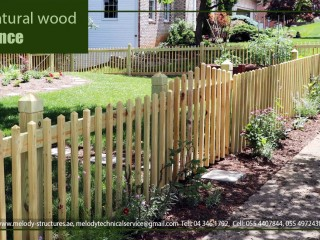 Wooden Fence Suppliers | Picket Fence | Privacy Fence | Wall Fence in UAE