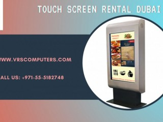 Wide Range of Touch Screen Rental Equipment in Dubai