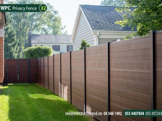 WPC Fence Suppliers in Dubai | WPC Privacy Fence Suppliers in UAE