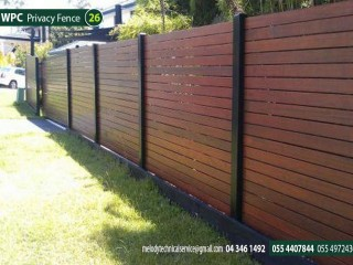 WPC Fence Suppliers in Abu Dhabi