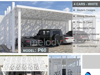 Wooden Car Parking Suppliers in Dubai | Car Parking Shade