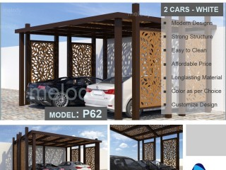 Wooden Car Parking Suppliers in Abu Dhabi | Car Parking Shade in Khalifa City