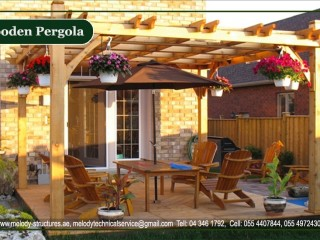 Wooden Pergola Suppliers in Dubai | Pergola in Arabian Ranches | Pergola Main Contractor