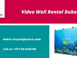 HD Video Wall Rental and Installations in Dubai