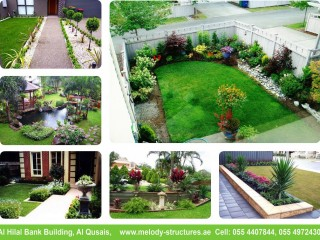 Landscaping in Dubai | Garden Structures Suppliers in UAE