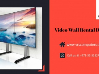 Video Wall Rental at VRS Technologies in Dubai UAE
